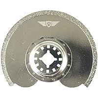 1 x TopsTools ST91DG_1 diamante lechada cuchilla para Bosch Fein (No-StarLock) Makita Milwaukee Einhell Hitachi Parkside Ryobi Worx Multi-herramienta Workzone Multi herramienta accesorios