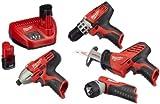 Milwaukee 4933416495 C 12 PP 4B Akku-Power-Pack