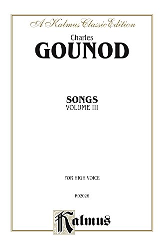 Songs, Volume III: For High Voice