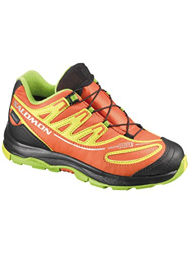 "SALOMON ""XA Pro 2 WP K"" Kinder Trail Laufschuhe, Modell 2014 George orange-X/MIMOSA YELLOW/GRANN"