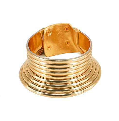 Reliablee African Snap Halskette & Armband für Damen. Modeschmuck-Set mit Kragenbox für Geburtstag und Weihnachten.