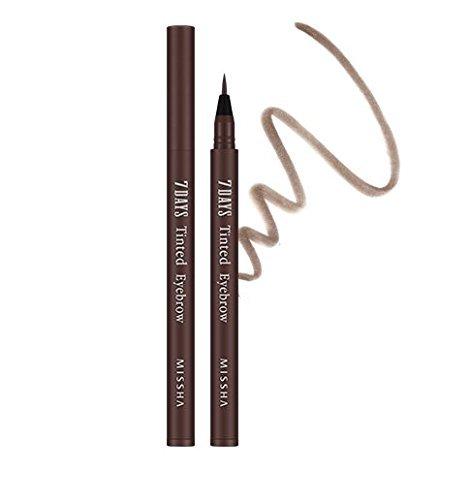 MISSHA 7Days Tinted Eyebrow -#Maroon Brown tatoo eyebrow korean cosmetics