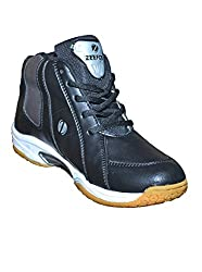 Zeefox Mens Basketball Shoes Black (7)