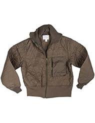 BW Debajo del abrigo Protección contra el frío verde oliva, color verde oliva, tamaño 48