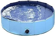 Mascota Nadando Piscina Portátil Plegable Piscina Perros Gatos Baños Tina Bañera Agua Estanque Ampliable Aseo Lavado