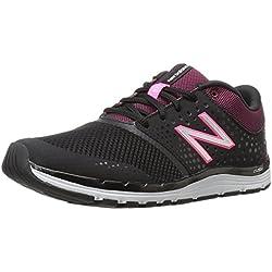 New Balance 577v4, Zapatillas Deportivas para Interior para Mujer, Negro (Black/Alpha Pink), 38 EU