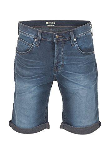 Mustang Herren Jeans Short Chicago - Medium Blue Denim (413); W 33