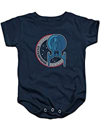 6dcf23abd0c0c Star Trek - - Toddler Enterprise Patch Onesie