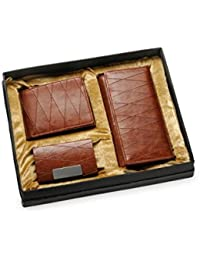 Arum Brown Genuine High-Quality Leather Women's Wallet, Men's Wallet & Business Card Holder For Couple …