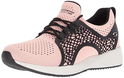 Skechers bobs squad - electromagnetic sneaker donna, rosa (pink black pkbk) 37.5 eu