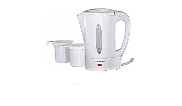 Buy Cookworks Travel Kettle White