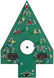 Elenco Christmas Tree Soldering Kit With Iron & Solder