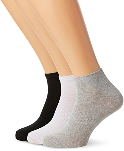 FM Men's 12-pack Trainer Socks | Breathable Sports Ankle Socks for Casual and Athletic Wear
