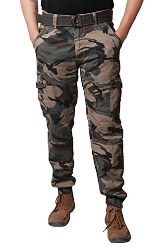 verticals Stylish and Trendy Army Print Cargo Pant...
