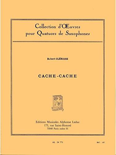 cache-cache-4-saxophones-partition-et-parties