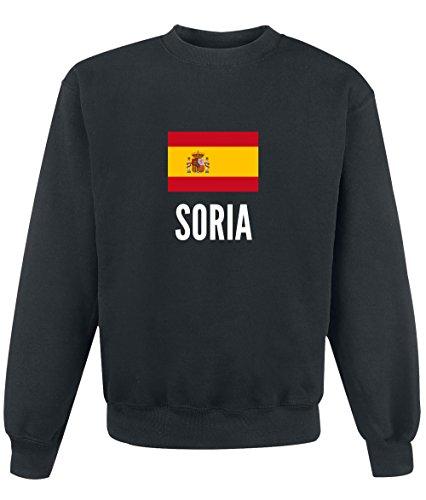 Felpa Soria city Black