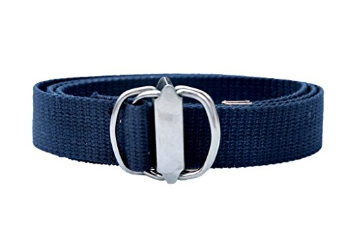 Contra Men\'s Blue 4 Kari Canvas Belt