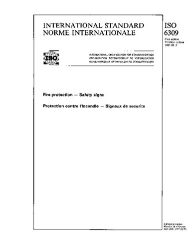 ISO 6309:1987, Fire protection - Safety signs