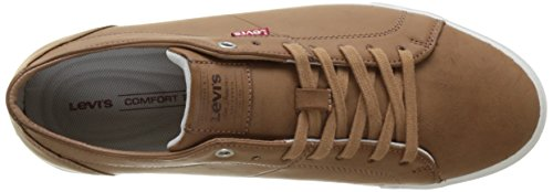 Levi's Woods, Baskets Basses Homme Marron