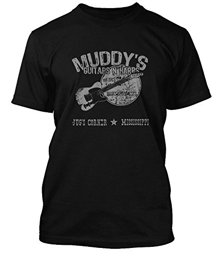 muddy-waters-inspired-guitars-n-harps-blues-t-shirt-hommes-large-noir