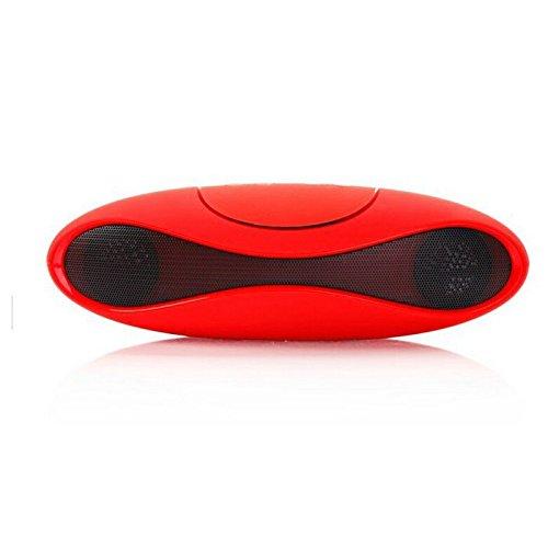 High End Bluetooth BT Stereo Lautsprecher Kabellos Wireless USB Micro-SD Radio Mikrofon für HTC Desire 630 825 One A9 S9, LG Bello II Class K10 K4 K5 K8 V10 WineSmart X cam screen Htc One X Stereo
