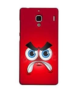 PrintVisa Designer Back Case Cover for Redmi 1S (Sady angry pose of clone)