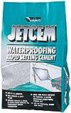 Everbuild Jetcem Water Proofing Rapid Set Cement (Single 3kg Pack) EVBJETWAT3