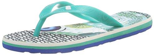 Desigual Shoes_flip Flop 7, Sandales Plateforme femme Turquoise - Turquoise (5024)