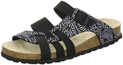 AFS-Schuhe 212220 - Zuecos de Piel para mujer