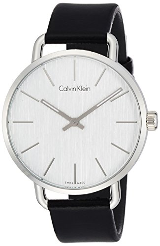 Calvin Klein Women's Analogue Quartz Watch with Leather Strap K7B211C6