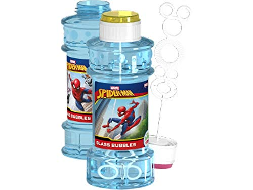 Dulcop Pompero 300ml Spiderman Surtido A Elegir 1, Incluye 1 Tubo de Pompas (51600)