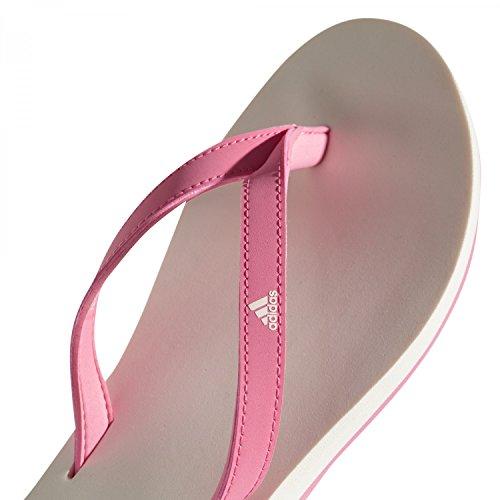 adidas Eezay Essence, Chaussures de Plage et Piscine Femme Rose (Chapnk/cwhite/chapnk Cg3556)