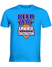 NEW BEER BELLY UNDER CONSTRUCTION TOP SELLING FUNNY TSHIRTS MENS BOYS WOMENS LADIES GILRS TREND COMEDY TEE ALL SIZES