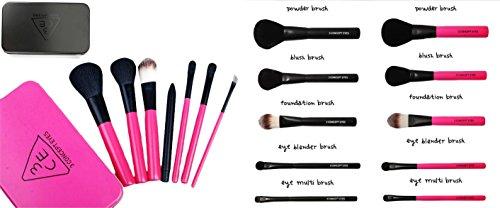 takestop Set 7Stück Pinsel mit Pack Pinsel Professionelle Gesicht Blush Rouge Make-up Augen...