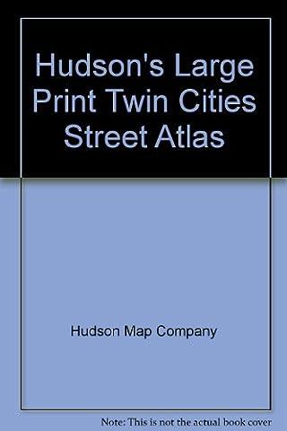 Hudson's Large Print Twin Cities Street