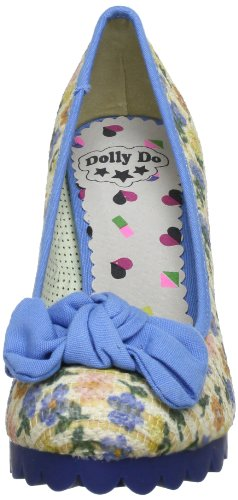 Dolly Do DD52215 Damen Pumps Blau (blue combi 02)