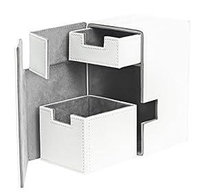 Ultimate Guard FlipŽnŽTray Deck Case 100+ Caja de Cartas Tamaño Estándar XenoSkin Blanco