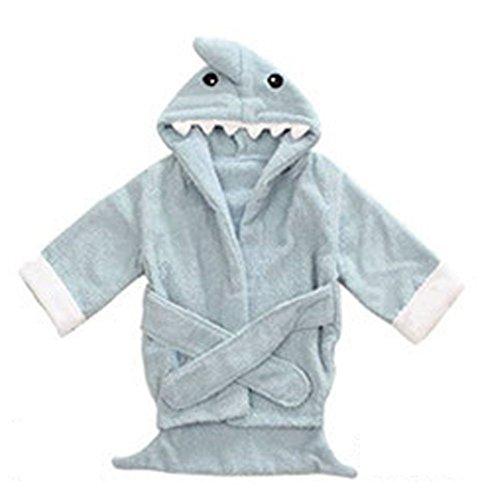 ARAUS-Baby Bademantel Süße Badetuch Babyhandtuch mit Kapuze Tiermuster Badekleidung Mausmuster
