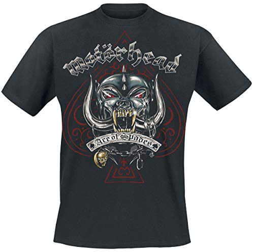 Motörhead Ace of Spades Tattoo Camiseta Negro L