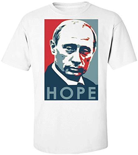 34f875784e Finest Prints Putin Hope Poster Camiseta para Hombre Extra Large