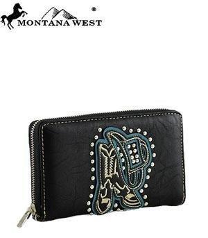 montana-west-hat-und-stiefel-umlaufendem-reiverschluss-geldbrse-schwarz-von-anythingeverythingshop
