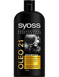 Syoss Shampoo Oleo 21, 3er Pack (3 x 500 ml)