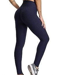 73b71255fe FITTOO Mallas Pantalones Deportivos Leggings Mujer Yoga de Alta Cintura  Elásticos y Transpirables para Yoga Running
