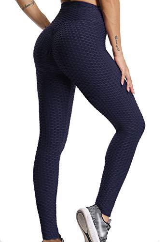 d06ccad654b1 FITTOO Mallas Pantalones Deportivos Leggings Mujer Yoga de Alta Cintura  Elásticos y Transpirables para Yoga Running Fitness con Gran Elásticos1090