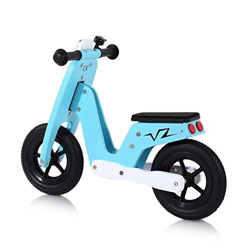 Baby-Vivo-Bicicleta-de-Equilibrio-Bicicleta-sin-Pedales-Nios-10-Silln-Bici-regulable-Correpasillos-Balance-Impulsor-Capri-Azul