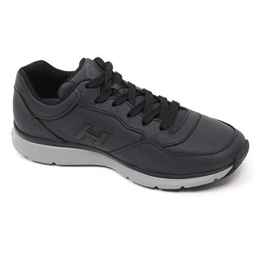 B9822 sneaker uomo HOGAN TRADITIONAL 20 15 scarpa H 3D nero shoe man Nero