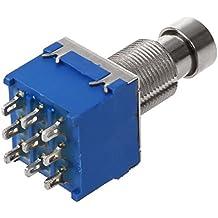 Interruptor de pedal - SODIAL(R)interruptor de pie de pedal de guitarra 3PDT