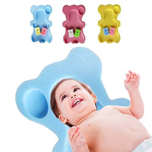 Pueri Baby Antirutsch Badewannen Matte Sicherheits Badezimmer Matte für Kinder (Blau)