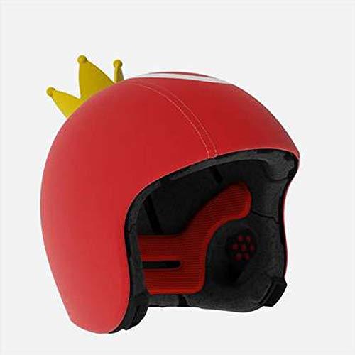 Bambino Casco Bici Ideale per Bambini e Adolescenti Caschi Perfetto per Downhill Ciclismo MTB Scooter Helmet Equilibrio per Auto,Certificazione CE UE 48-52cm Piccola Coro