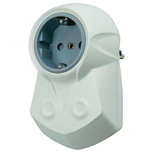 Ehmann Zwischenstecker/Zwischensteckdose mit Netzfilter 0463x0000 / weiss / 230 V/AC